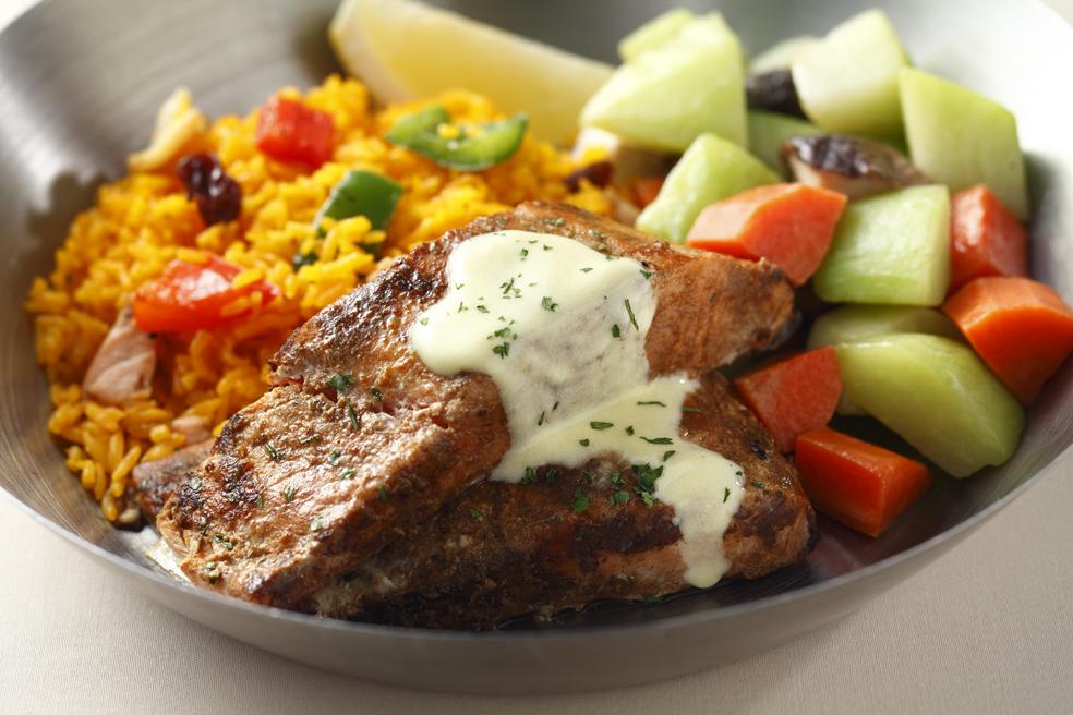 grilled Salmon Cajun